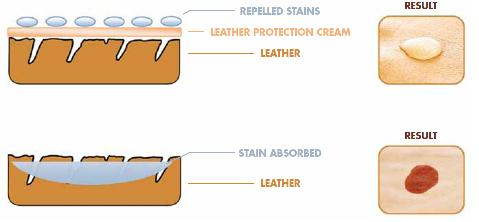Leather Protection - Protective Barrier