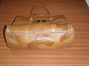 Water Stained Mulberry Handbag